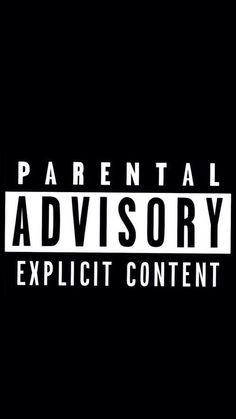 Parental Advisory Explicit ContentiPhone壁紙 iPhone 5/5S 6/6S PLUS SE Wallpaper Background