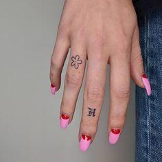 Mini Tattoos, Red Tattoos, Dainty Tattoos, Little Tattoos, Pretty Tattoos, Tribal Tattoos, Cool Tattoos, Tatoos, Forearm Tattoos