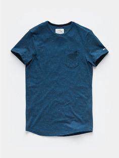 Pique T-shirt Darkblue - The Sting