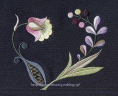 """sarasa"" Japanese embroidery"