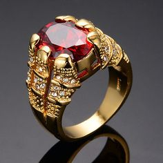 It has all the great characteristics of solid gold jewelry. Do not compare gold filled jewelry to plated jewelry as there is no comparison. Ring Size(Approx):US Mens Gold Bracelets, Mens Gold Rings, Gold Rings Jewelry, Rings For Men, Silver Rings, Jewellery, Jewelry Shop, Men's Fashion Jewelry, Fashion Rings