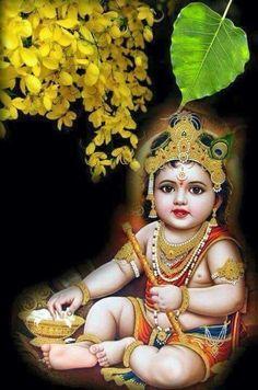 My little Krishna Krishna Hindu, Jai Shree Krishna, Cute Krishna, Radha Krishna Pictures, Lord Krishna Images, Radha Krishna Photo, Krishna Radha, Radha Rani, Hindu Deities