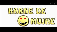 Justin Bieber | Let me love you | HINDI parody | Karne De Pyaar Mujhe | ...