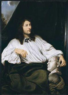 L'homme au buste de Caracalla - Sebastien  Bourdon