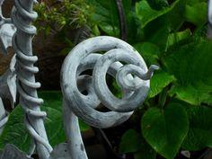 Floral Panel detail, handmade by Tom Fell - Blacksmith
