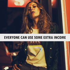 Everyone can use some extra income. Quote Of The Day, Motivational Quotes, Marketing, People, Phrase Of The Day, Inspirational Qoutes, Daily Quotes, People Illustration, Folk