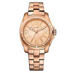 Tommy  Reloj Mujer Dorado 80k