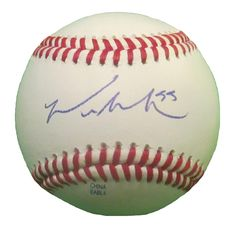 Seattle Mariners Michael Saunders signed Rawlings ROLB leather baseball w/ proof photo.  Proof photo of Mike signing will be included with your purchase along with a COA issued from Southwestconnection-Memorabilia, guaranteeing the item to pass authentication services from PSA/DNA or JSA. Free USPS shipping. www.AutographedwithProof.com is your one stop for autographed collectibles from Seattle Sports teams. Check back with us often, as we are always obtaining new items.