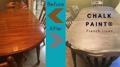 Chalk Paint® Transformation: Table & Chairs @thepincook.com Table And Chairs, Chalk Paint, Cooking, Blog, Recipes, Home Decor, Homemade Home Decor, Kochen, Food Recipes