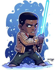 Can't forget about Chibi Finn! Prints at my store. Link is in my profile…