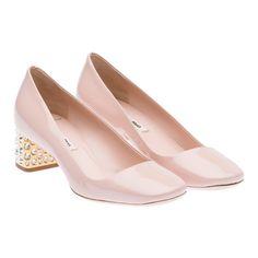 Miu Miu e-store · Shoes · Pumps · Pumps 5I9707_1L2_F0ORK_F_045