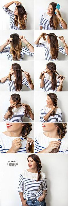 12 egyszerű frizura ötlet ,amit 5 perc alatt elkészíthetsz - MindenegybenBlog