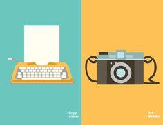 Copy-writer X Art Director