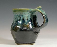 coffee mug - pottery - Charles & Rowan Hughes - Etsy
