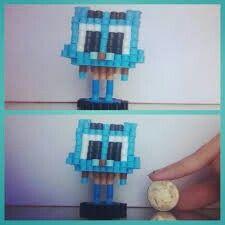 3D Perler Bead Gumball