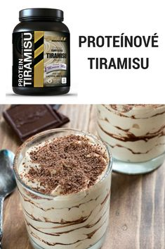 Luxusný proteínový dezertík, ktorý obsahuje 11g bielkovín a len 3g sacharidov na porciu ;-)