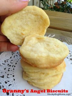 Melt in your mouth delicious!  I love this recipe because you can refrigerate the door and bake fresh in the morning!