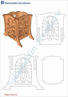 Wall Shelf Scroll Saw Woodworking Project Paper Crafts Origami, Cardboard Crafts, Wood Crafts, Diy Crafts, Wood Projects, Woodworking Projects, Photo Frame Design, Laser Cutter Projects, Free To Use Images