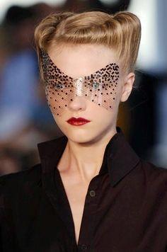 Adhesive eyewear.