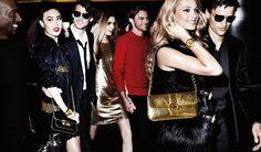 Simon Nessman, Corey Baptiste, Taylor Fuchs & Grayson Gettys are Ready to Party for Michael Kors Holiday 2012 Campaign