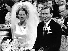 Wedding Day of Queen Beatrix and Claus von Amsberg, the Netherlands