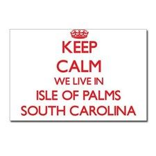 Keep calm we live in Isle Postcards (Package of 8) for