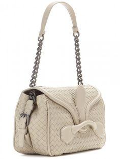 "Bottega Veneta SS 205 ""Rialto"" leather shoulder bag."