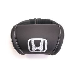 Honda - Universal Headrest Leather Auto Car Neck Rest Cushion Pillow. Car interior accessories the best gifts. Embroidered logo. by Chekasinstore on Etsy