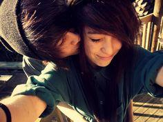 nos amamos como somos juntos <3