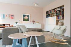 Extra Wall living Divani - slowwood - vitra rar -modern porro hanging dressoir- marjoke schulten - dion van zelst - farrow and ball Pink Ground