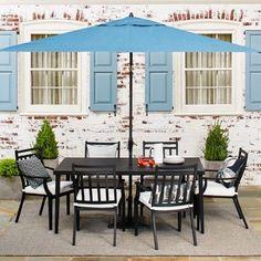 Fairmont Steel 7-Piece Patio Dining Set - Threshold™ : Target