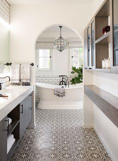 archertype Home Interior, Bathroom Interior, Interior Design, White Bathroom, Eclectic Bathroom, Neutral Bathroom, Modern Bathroom, Seashell Bathroom, Moroccan Bathroom