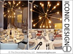 Iconic Design Table Setting | TheDecoratingDiva.com