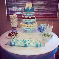 my first dessert table http://kathyskakery.wix.com/home