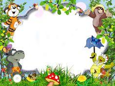 Contoh Undangan Aqiqah dan Kartu Ucapan yang Bisa di Edit dan H Kids Background, Paper Background, Diy And Crafts, Crafts For Kids, Paper Crafts, Photo Frames For Kids, Boarders And Frames, School Frame, Baby Frame