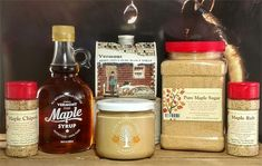 The Bouchard family has been producing premium Vermont maple syrup and maple products for over a century here on our family farm. Maple Sugar, Maple Cream, Glycemic Index, Edible Plants, Green Mountain, Fun Cocktails, Chipotle, Maple Syrup, Vermont