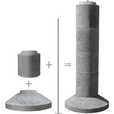 EZ-TUBE is a patented precast concrete footing system, consisting of a base section, 1 or more upper sections and a threaded rod anchor to secure it into a single, solid pier-type footing. Deck Footings, Concrete Footings, Container Homes For Sale, Shipping Container Homes, Container Shop, Concrete Cement, Concrete Countertops, Concrete Projects, Concrete Design