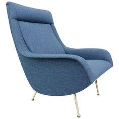 Excellent Blue Armchair 77 In Home Decor Ideas with Blue Armchair Blue Armchair, Aldo, 1950s, Decor Ideas, The Originals, Furniture, Home Decor, Decoration Home, Room Decor