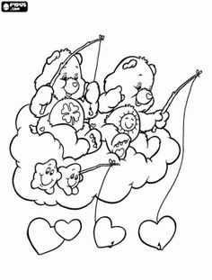 45 Best Care Bears Coloring Sheets Images Care Bears Coloring