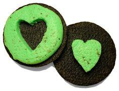 Mint Oreo hearts
