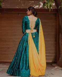 Best Pick for navaratri 2019 silk chaniya choli , Navaratri outfits Lehenga Choli Designs, Choli Blouse Design, Saree Blouse Designs, Garba Dress, Lehnga Dress, Lehenga Blouse, Navratri Dress, Anarkali Lehenga, Indian Gowns Dresses