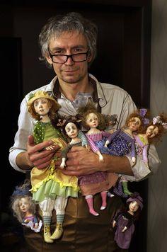 Art doll s by Denis Shmatov