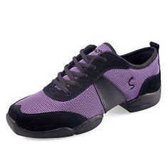 Women's+Mesh+Fabric+Upper+Dance+Shoes+Dance+Sneakers+–+USD+$+34.99