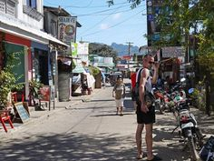 The town of Coron is small and rustic.