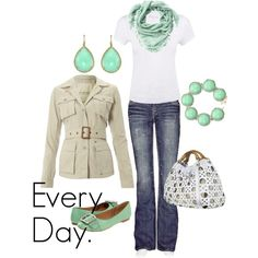 EVERY DAY (I could wear this) by chachacha on Polyvore
