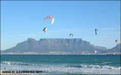 Image result for table mountain waves kitesurfing
