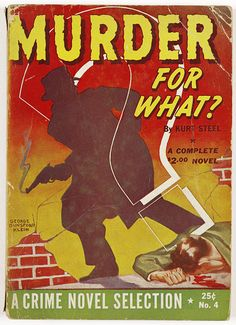 Cheap Thrills, Private Dicks, and Desperate Dames From the Heyday of Pulp Fiction - Atlas Obscura Pulp Fiction Comics, Pulp Fiction Book, Crime Fiction, Fiction Novels, Vintage Book Covers, Vintage Books, Pulp Magazine, Magazine Covers, Sci Fi Books