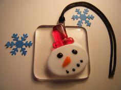 Fused Glass Christmas Decorations   Iridescent Glass Design MISI Handmade Shop