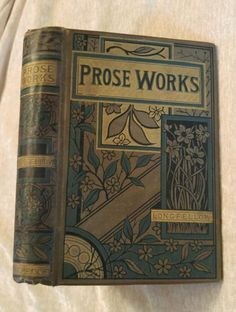 Prose Works Henry Wadsworth Longfellow Illus. Antique Victorian Decor Hyperion in Books, Antiquarian & Collectible | eBay