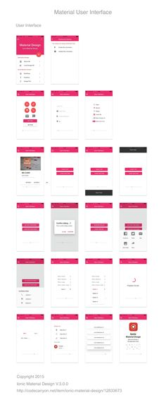 Download this at http://resource.ionicmaterialdesign.com/demo/apk_ionicmaterialdesignV3_3.zip This is the screenshots of Ionic Material Design is Mobile Native Web Application that developed by Ionic Framework under the design concept of Google Material D